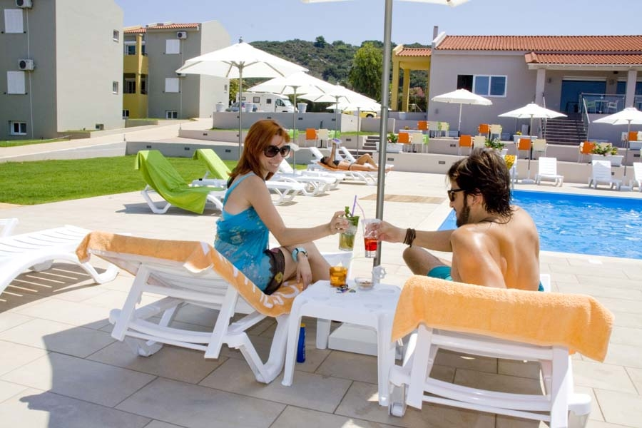 Services, Fournia Village Kyllini beach hotels pool half board